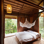 Ridge hut rooms