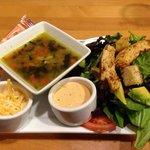 Sante Fe Salad with Italian Wedding Soup