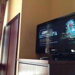 interior + TV