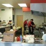 Kitchen/serving staff