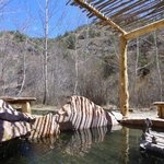 Area hot springs