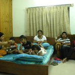 Interiors of our cottage at WBFDC Nature Resort at Garhpanchkot