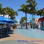 Daytime view of Times Square at Ft. Myers Beach