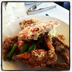 Salt and pepper Mud crab... something from heaven.