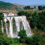 Jiulong Waterfalls of Guangxi Foto