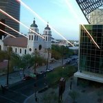 View of St Mary's Basilica from Convention center