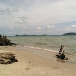 View from their beach