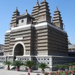 Sarira Pagoda of Longxing Buddhist Temple