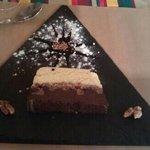 dessert aux deux chocolats