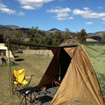 Beautiful Wee Jasper and campsite all set up!