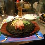 My steak with garlic