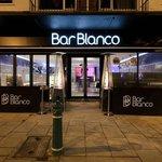Exterior shot of Bar Blanco