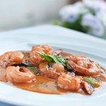 Tandoori Stir fried Shrimps