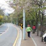 Route up Mt Inwangsan