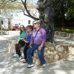 Monumento al cuidador de piaras,delante museo del jamon