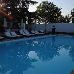 La piscine au petit matin