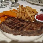 New York steak at Ken's