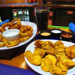When in Cow Country, you gotta have Rocky Mountain Oysters.