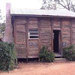 Red gum slab school, Pioneer Settlement