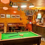 Brian Boru Traditional Bar - Pool table + Darts area