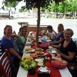 Zeytin'de mükemmel bir kahvaltı!