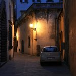 Lucca in the night, walking distance from B&B
