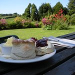 Relax with a cream tea