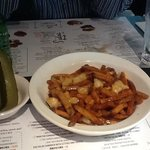 pickles, poutine and moosehead, eh?