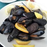 My mussel lunch