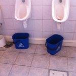 Gents toilet, bar area