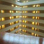 Vista sui piani delle camere