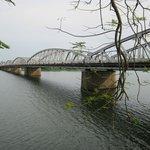 Hue's famous Trang Tein bridge