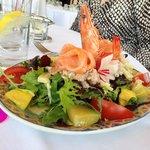 salade des tropiques - trés bon et copieux