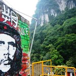 karst view with che