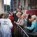 Enjoying an Ingenious Dublin guided tour. Image Ros Kavanagh/TBCT