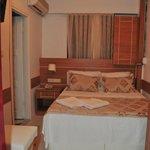 standart room bed