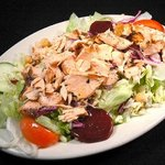 Grilled Salmon House Salad