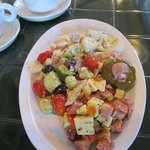An amazing assortment of salad options
