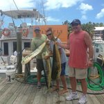 Some nice mahi, all well over 20 lbs. and all delicious!