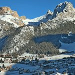 View toward Selva val Gardena from our room