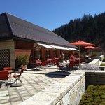 Restaurant Fidelio mit Terrasse