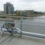 Biking across the Missouri