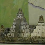 Model of the city of Tikal