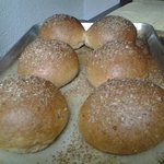 All Wheat Multigrain Hamburger Buns (NEW)