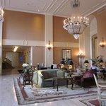 Lobby at hotel entrance