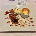Le dessert de l'artiste