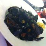 Mussels as a starter yum yum
