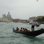 Gondolier Grand Canal Venice