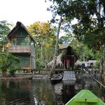 Arriving at Tapiche Ohara lodge