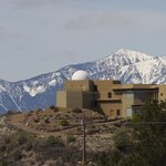 One of several homes on Anarchist Mountain with private observatories